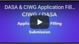 DASA-CIWG-Application